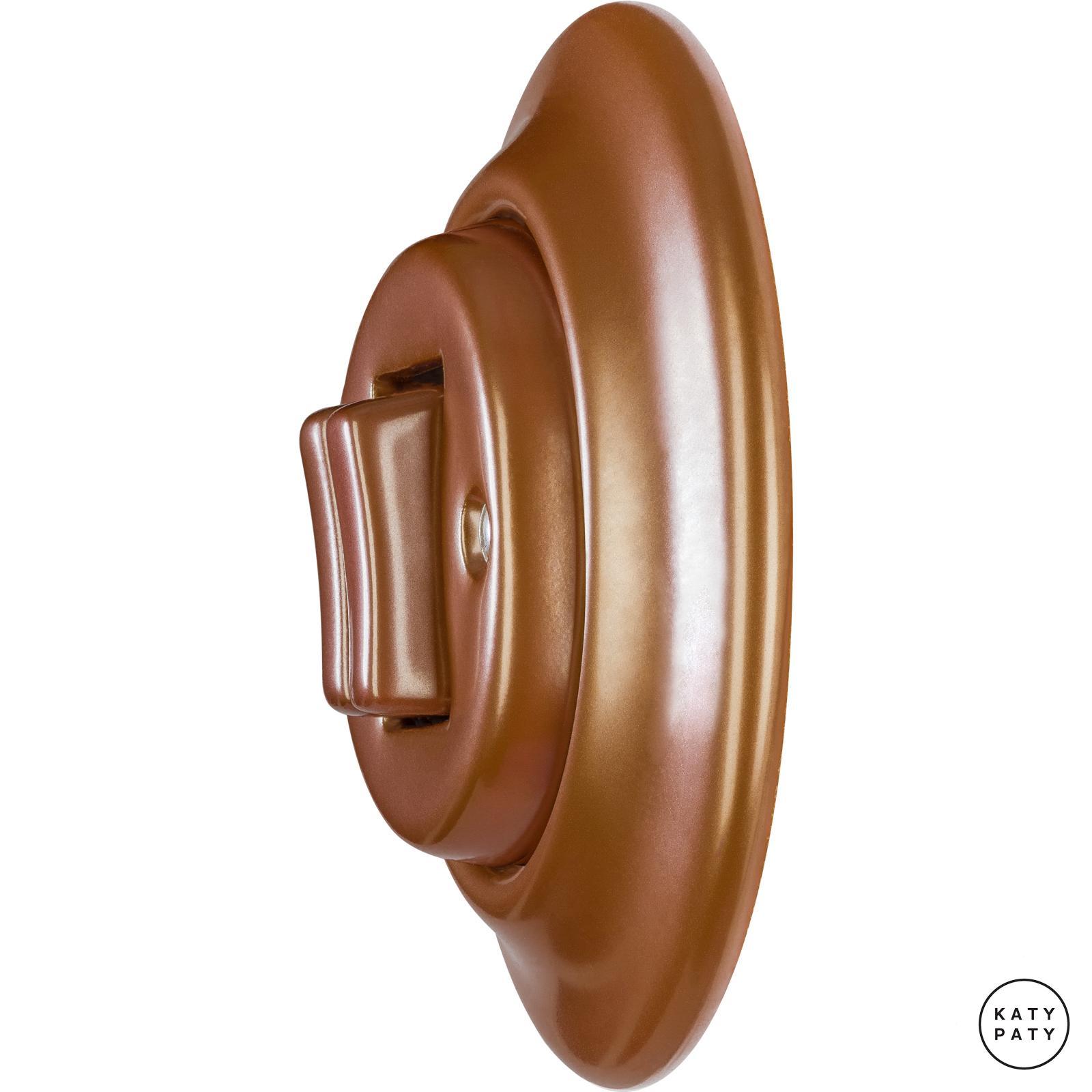 roo interrupteur en porcelaine clapet double cuprum. Black Bedroom Furniture Sets. Home Design Ideas